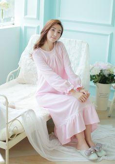 Aliexpress.com : Grün Nacht kleid Frauen Nachtwäsche Langen Nachthemd Winter Nachtwäsche Damen Kleid Manhattan nachtwäsche vestidos von verlässlichen kleid valentine-Lieferanten auf Xiao O store kaufen