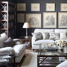This peaceful space is a stunning example of the successful use of grayscale. ditto!