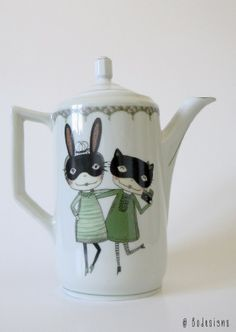 New teapot Smile by Bodesigns