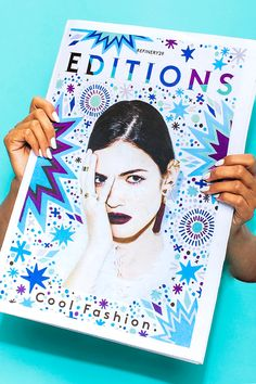 Photographed by David Cortes.  #refinery29 http://www.refinery29.com/2015/02/82255/nyfw-cool-fashion-zine-edition#slide-4