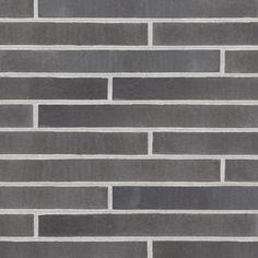 Ströjer M801 Infinity Black, svart fasadtegel