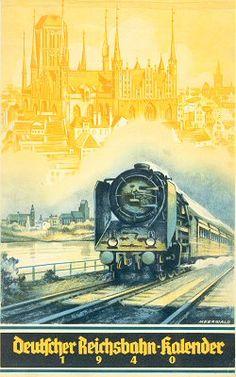 Reichsbahn-Kalender 1940