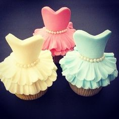 Bridal Shower Cupcakes!
