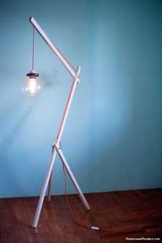 Elegant DIY Lamps Created For Under $50 Dollars Using Recycled Parts: