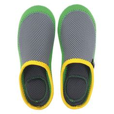 UNITREX NEO Slippers Green Ylw, $21.99, now featured on Fab.