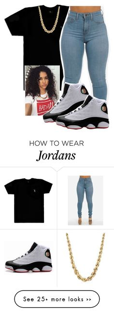 """Gn ."" by baabyy-c on Polyvore featuring October's Very Own@@@w0lfieee"