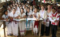 Press Availability by Mrs. Laura Bush After a Visit to Mae la Refugee Camp