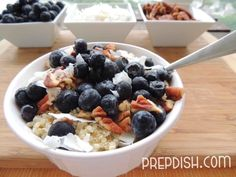 Blueberry-Pecan Quinoa Breakfast Bowl (It's Paleo!)