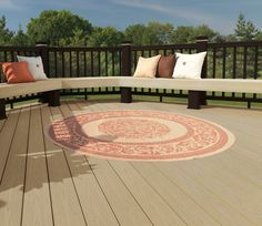 With unique color variation and composite decking capped with protective polymer shell, Robert G. Miller has been providing the most resistant products to all their clients. The boards they generally have resemble the warm, vibrant tones of exotic wood.