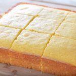 Prăjitură cu mălai și lapte bătut, un desert pentru pofticioși. Da, este favorita mea! - Secretele Gospodinei
