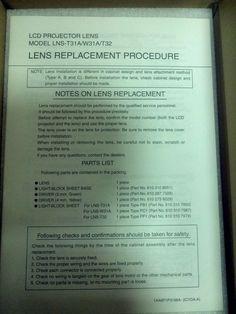 Christies lcd projector lens 38-809047-01 Zoom 1.3-1.8:1 vivid #Christie Projector Lens, Ebay