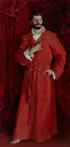 Dr. Pozzi at Home John Singer Sargent 1881