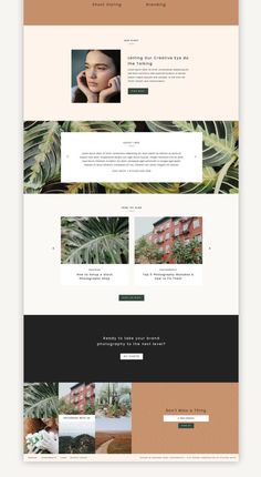 Small business website design inspiration and ideas for your next site Web Design Trends, Design Websites, Web Design Quotes, Web Design Tips, Layout Design, Graphisches Design, Web Layout, Flat Design, Graphic Design