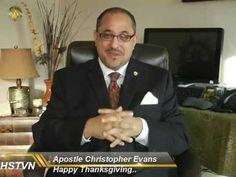 HSTVN Update: Happy Thanksgiving from Hearken Spiritual Apostle Christopher Evans founder sending blessings. Christopher Evans, Happy Thanksgiving, Spirituality, Fictional Characters, Happy Thanksgiving Day, Spiritual