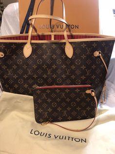 61787a373756 Authentic Louis Vuitton Neverfull GM Monogram Tote Shoulder Bag #fashion  #clothing #shoes #
