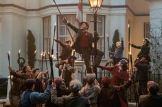 Lin-Manuel Miranda - Mary Poppins Returns - Jack the lamplighter - Mary Poppins - Emily Blunt - Annabel Banks - Pixie Davies - Georgie Banks - Joel Dawson - John Banks - Nathanael Saleh Disney Pixar, Disney Films, Disney Live, Hindi Movies, Watch Mary Poppins, Jane And Michael, Michael Banks, Ben Whishaw, Lights Fantastic