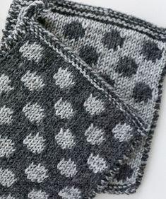 Patalappu onteloneuleella – katso ohje ja neulo patalaput – Kotiliesi.fi Yarn Inspiration, Make Your Own, How To Make, Hot Pads, Knit Crochet, Diy Crafts, Embroidery, Blanket, Detail