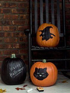 Halloween Pumpkin Templates - Free Halloween Templates from WomansDay.com - Woman's Day