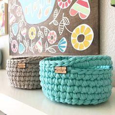 622206e7b77 Graduation Gift / Home Decor / Storage Basket / Small Crochet Passo A  Passo, Presentes