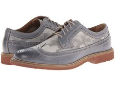 Florsheim Ninety-Two Ox Gray Milled/Camo Canvas - Zappos.com Free Shipping BOTH Ways