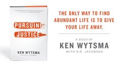 Pursuing Justice by Ken Wytsma~I want to convince my women's group to do this as our next study.
