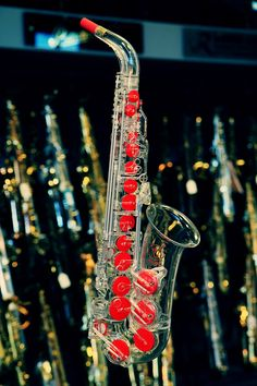 The Worlds first transparent saxophone