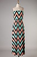 Pastel Strapless Maxi Dress @NeoChic By Ali