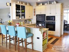 Hometalk :: Paint Kitchen Cabinets With Chalk Paint