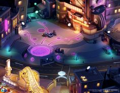 Hero World by Robert Berrier | Cartoon | 3D | CGSociety