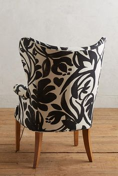 Slide View: 2: Neve Wingback Chair