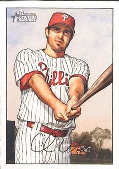 2007 Bowman Heritage #193a Chase Utley Front