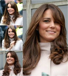 loose wavy with side fringe by clip on medium brown wavy hair extension