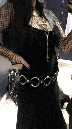 All Black Fashion, Daily Fashion, Girl Fashion, Fashion Ideas, Goth Aesthetic, Aesthetic Clothes, Grunge Fashion, Gothic Fashion, Hot Goth Girls