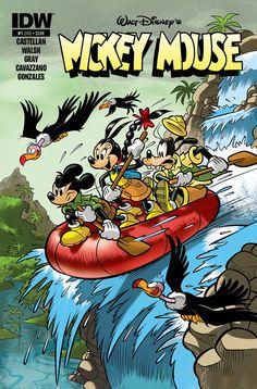 "Mickey Mounse #1 cover by Andrea ""Casty"" Castellan. #disney"