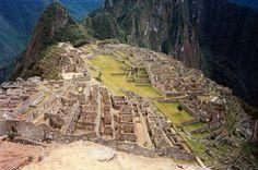 Machu Picchu the lost Inca city in the Andes, Peru