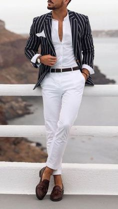 - With the World Cup finally here it is time to show off your team pride. The World Cup is a mens football championship in which countries all over the. Blazer Outfits Men, Mens Fashion Blazer, Suit Fashion, Fashion Outfits, Fashion Menswear, Casual Outfits, Casual Chique, Moda Casual, Mens Style Guide
