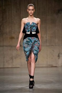 Peter Pilotto:Autumn/Winter 2013:Review | ELLE UK