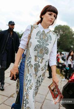 Неоднозначное сочетание: как носить платье с брюками — на Шопоголик