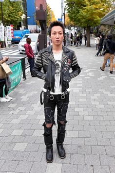 no name given, punk style | 13 January 2013 | #Fashion #Harajuku (原宿) #Shibuya (渋谷) #Tokyo (東京) #Japan (日本)