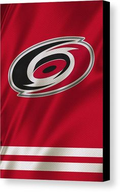 Hurricanes Canvas Print featuring the photograph Carolina Hurricanes by Joe Hamilton