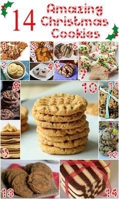 14 Amazing Christmas Cookies