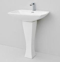 Jazz, design Meneghello #bagno #bathroom #design #decor #white  #Artceram wall-hung/for column washbasin