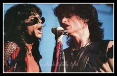 THE HOTTEST TWINS ON THE PLANET ... STEVEN TYLER & JOE PERRY  FACEBOOK/TOTALLY TYLER - TOXIC TWINS TUESDAY