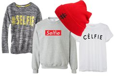 hashtag selfie clothing and accessories.