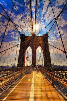 Brooklyn Bridge, 1883, New York City. An example of Victorian Architecture