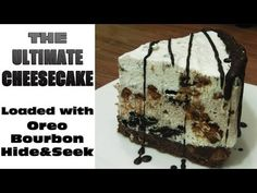 Ultimate Cheesecake Recipe | Oreo,Chocolate-Bourbon,Chocochips+Hide&Seek | No bake - YouTube