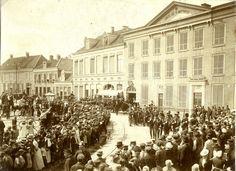 Begrafenis marechaussee Hoekstra, 1902 | Mijn Stad Mijn Dorp