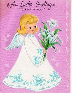 Angel Easter Card