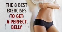 The 8best exercises toget aperfect belly