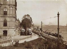 Bem (Margit) rakpart a Láchídról a Margit híd felé nézve. Balra a Lánchíd Palota, a Lánchíd Társulat Ybl Miklós tervezte székháza. A kép forrását kérjük így adja meg: Fortepan / Budapest Főváros Levéltára. Levéltári jelzet: HU.BFL.XV.19.d.1.08.139